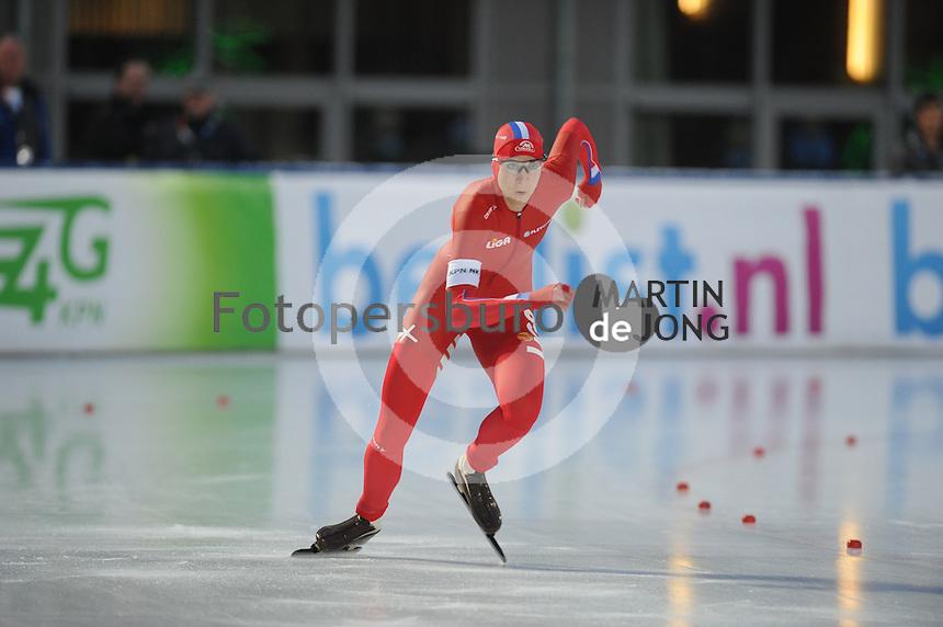 SCHAATSEN: AMSTERDAM: Olympisch Stadion, 28-02-2014, KPN NK Sprint/Allround, Coolste Baan van Nederland, Margot Boer, ©foto Martin de Jong
