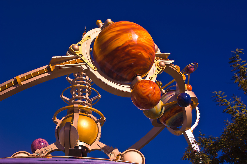 Astro Orbiter ride, Walt Disney World, Orlando, Florida USA