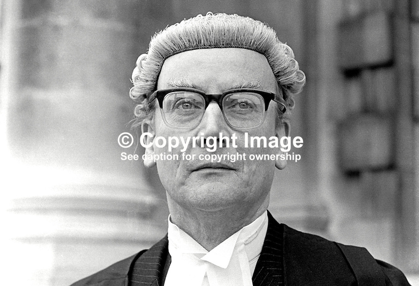 Eric William Hunter Christie, barrister, N Ireland, UK, 197505000268b.<br />
