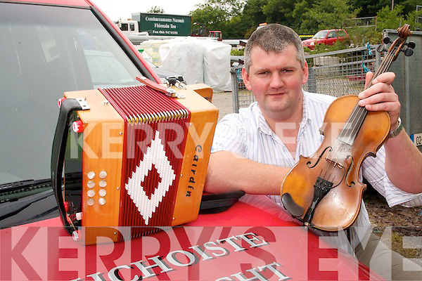 MUSIC MAN: Peter Mullarky from Ballinskelligs who is organsisng a new music feastival in Iveragh which will look at music which has been lost in the region for generations..