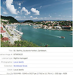 St. barths, Saint Barthelemy, Gustavia Harbor West Indies, French  West Indies,