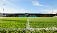 A general view of Glanford Park, home of Scunthorpe United FC<br /> <br /> Photographer Chris Vaughan/CameraSport<br /> <br /> The EFL Sky Bet League One - Scunthorpe United v Bristol Rovers - Saturday 11th November 2017 - Glanford Park - Scunthorpe<br /> <br /> World Copyright &copy; 2017 CameraSport. All rights reserved. 43 Linden Ave. Countesthorpe. Leicester. England. LE8 5PG - Tel: +44 (0) 116 277 4147 - admin@camerasport.com - www.camerasport.com