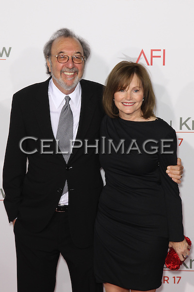 "JAMES L BROOKS, HOLLY BETH HOLMBERG BROOKS. World Premiere of ""How Do You Know"" at the Regency Village Theatre. Los Angeles, CA, USA. December 13, 2010. ©CelphImage"