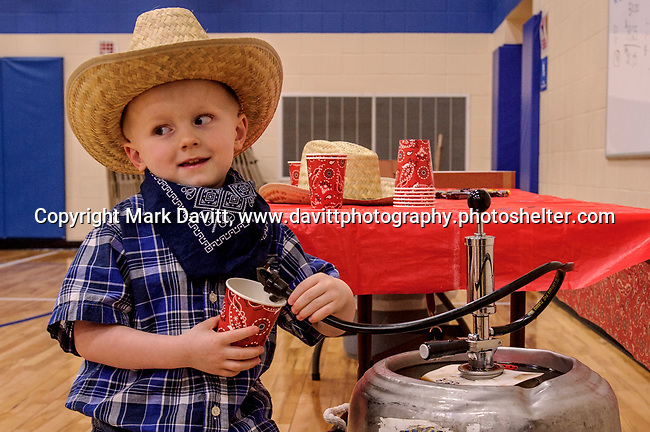 Bondurant hosted a Mother and Son Hoedown March 25 at Anderson Elementary. Everyone had a rootin' tooting' time with lots of snacks, games, crafts, music and dancing too. Jayden Fastenau enjoyed a Reclaimed Rails root beer break.