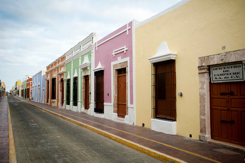 The city of Campeche a UNESCO World Heritage site, Campeche,  Mexico