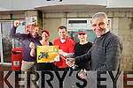 Staff at Foleys Spar on the Castlemaine road were celebrating selling a €500,000 winning EuroMillions ticket on Wednesday From Left: Norman Foley Owner, Catherine Casey Danny Casey, Michelle Lynch and Kieran Aherne, Manager.