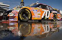 Mar 31, 2007; Martinsville, VA, USA; Nascar Nextel Cup Series driver Johnny Sauter (70) during practice for the Goody's Cool Orange 500 at Martinsville Speedway. Martinsville marks the second race for the new car of tomorrow. Mandatory Credit: Mark J. Rebilas.