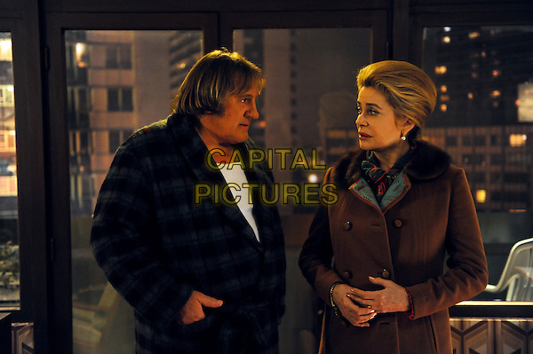 Gerard Depardieu, Catherine Deneuve<br /> in Potiche (2010) <br /> *Filmstill - Editorial Use Only*<br /> CAP/NFS<br /> Image supplied by Capital Pictures