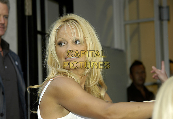 PAMELA ANDERSON.PETA's Humanitarian Awards at Stella McCartney's Mayfair boutique, London England..(People for Ethical Treatment of Animals) .28th June 2006 .Ref: IA.headshot portrait .www.capitalpictures.com.sales@capitalpictures.com.©Phil Loftus/Capital Pictures