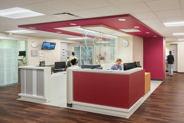 Norton Children's Hospital Renovation   Design Group