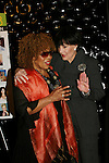 Linda Dano (R) (both were on Another World & Linda on ABC soaps) - Roberta Flack (sang on OLTL)  at the First Annual StarPet 2008 Awards Luncheon as dogs and cats compete for a career in showbusiness on November 10, 2008 at the Edison Ballroom, New York, New York. The event benefitted Bideawee and NY SAVE. Michelle and Roberta are judges today. (Photo by Sue Coflin/Max Photos)