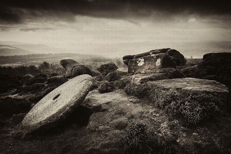 Hathersage Moor, Peak District, Derbyshire