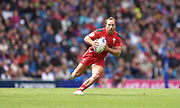 Wales's William Harries<br /> <br /> Australia Vs Wales - Men's quarter-final<br /> <br /> Photographer Chris Vaughan/CameraSport<br /> <br /> 20th Commonwealth Games - Day 4 - Sunday 27th July 2014 - Rugby Sevens - Ibrox Stadium - Glasgow - UK<br /> <br /> © CameraSport - 43 Linden Ave. Countesthorpe. Leicester. England. LE8 5PG - Tel: +44 (0) 116 277 4147 - admin@camerasport.com - www.camerasport.com