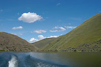 Brownlee Reservoir on the Snake River above Hell's Canyon is considred Idaho's best fishing impoundment.  Crappie, bass, catfish, and trout are available in this popular impoundment bordered by Oregon and Idaho.