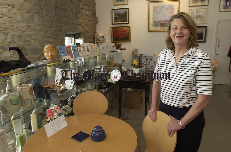 "Owner Elizabeth Murphy in ""Murphy's Store"" a new craft and coffee shop in Kinvara."