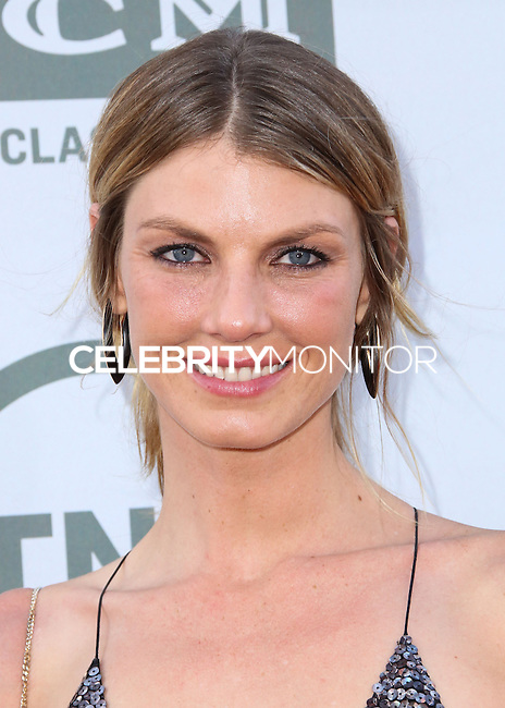 HOLLYWOOD, LOS ANGELES, CA, USA - JUNE 05: Angela Lindvall at the 42nd AFI Life Achievement Award Honoring Jane Fonda held at the Dolby Theatre on June 5, 2014 in Hollywood, Los Angeles, California, United States. (Photo by Xavier Collin/Celebrity Monitor)