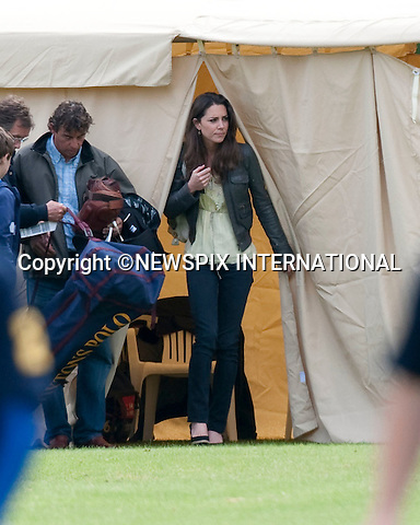 "Kate Middleton, Prince William and Prince Harry.Kate Middleton watched the Princes play in the Dorcester Trophy at Cirencester Polo Club_Cirencester_07/06/2009.Mandatory Photo Credit: ©Dias/Newspix International..**ALL FEES PAYABLE TO: ""NEWSPIX INTERNATIONAL""**..PHOTO CREDIT MANDATORY!!: NEWSPIX INTERNATIONAL(Failure to credit will incur a surcharge of 100% of reproduction fees)..IMMEDIATE CONFIRMATION OF USAGE REQUIRED:.Newspix International, 31 Chinnery Hill, Bishop's Stortford, ENGLAND CM23 3PS.Tel:+441279 324672  ; Fax: +441279656877.Mobile:  0777568 1153.e-mail: info@newspixinternational.co.uk"
