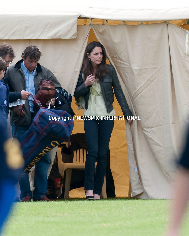 """Kate Middleton, Prince William and Prince Harry.Kate Middleton watched the Princes play in the Dorcester Trophy at Cirencester Polo Club_Cirencester_07/06/2009.Mandatory Photo Credit: ©Dias/Newspix International..**ALL FEES PAYABLE TO: """"NEWSPIX INTERNATIONAL""""**..PHOTO CREDIT MANDATORY!!: NEWSPIX INTERNATIONAL(Failure to credit will incur a surcharge of 100% of reproduction fees)..IMMEDIATE CONFIRMATION OF USAGE REQUIRED:.Newspix International, 31 Chinnery Hill, Bishop's Stortford, ENGLAND CM23 3PS.Tel:+441279 324672  ; Fax: +441279656877.Mobile:  0777568 1153.e-mail: info@newspixinternational.co.uk"""