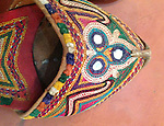 VINTAGE EMBROIDERED MOJDI MOJRI SHOES