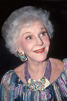 Mary Martin 1985<br /> Photo By Adam Scull/PHOTOlink.net