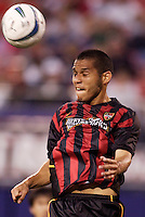 The MetroStars' Craig Ziadie. The Kansas City Wizards were defeated by  the NY/NJ MetroStars to a 1 to 0 at Giant's Stadium, East Rutherford, NJ, on May 30, 2004.