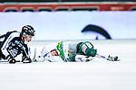 Solna 2014-03-16 Bandy SM-final herrar Sandvikens AIK - V&auml;ster&aring;s SK :  <br /> V&auml;ster&aring;s Johan Esplund ligger p&aring; isen och har ont efter en n&auml;rkamp<br /> (Foto: Kenta J&ouml;nsson) Nyckelord:  SM SM-final final herr herrar VSK V&auml;ster&aring;s SAIK Sandviken  skada skadan ont sm&auml;rta injury pain depp besviken besvikelse sorg ledsen deppig nedst&auml;md uppgiven sad disappointment disappointed dejected