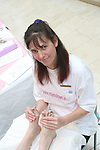 Sasha Byrne from Blissful Feet Reflexology, Mornington at the Mumstown Mothers Day Event in Scotch Hall...Photo NEWSFILE/Jenny Matthews.(Photo credit should read Jenny Matthews/NEWSFILE)....This Picture has been sent you under the condtions enclosed by:.Newsfile Ltd..The Studio,.Millmount Abbey,.Drogheda,.Co Meath..Ireland..Tel: +353(0)41-9871240.Fax: +353(0)41-9871260.GSM: +353(0)86-2500958.email: pictures@newsfile.ie.www.newsfile.ie.FTP: 193.120.102.198.
