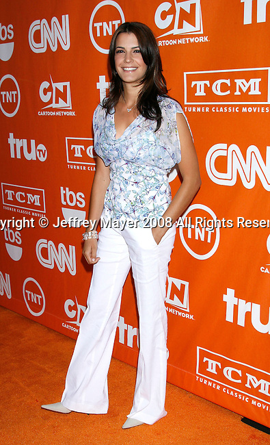 Actress Natalia Cigliuti arrives at the Turner Broadcasting TCA Party at The Oasis Courtyard at The Beverly Hilton Hotel on July 11, 2008 in Beverly Hills, California.