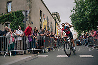 Greg Van Avermaet (BEL/BMC) at the Team presentation in La Roche-sur-Yon<br /> <br /> Le Grand D&eacute;part 2018<br /> 105th Tour de France 2018<br /> &copy;kramon