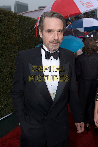 JEREMY IRONS.Arrivals at the 67th Golden Globe Awards held Beverly Hilton, Beverly Hills, California, USA..January 17th, 2010.globes half length black tuxedo goatee facial hair .CAP/AW/HFPA.Supplied by Anita Weber/Capital Pictures