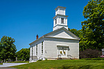 Hadlyme Congregational Church. Built 1840. Town Street, Route 82, East Haddam, CT.