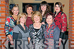 Kate Cahill, Maureen Aherne, Geraldine Bowler, Mora Warren, Mary Murphy, Yvonne Ahern and Shirley Mahony at the 'Sport Stars on Catwalk for School Fashion' fundraising event in Darby O'Gills in Killarney last Saturday night with all funds raised going to Barraduff National School.