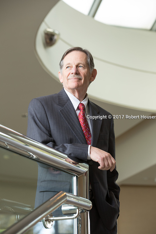 Portrait of Norman Schwartz - CEO - BioRad
