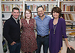 Chad Beguelin, Caitlin Kinnunen, Matthew Sklar and Beth Leavel attends the Dramatists Guild Fund Salon with Matthew Sklar and Chad Beguelin at the home of Gretchen Cryer on December 8, 2016 in New York City.