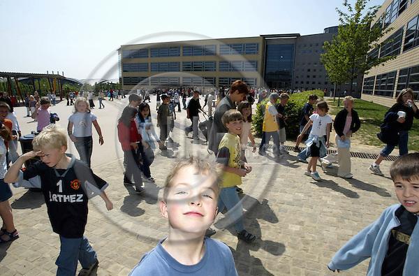 LUXEMBOURG - 07 MAY 2003 -- The European School of Luxembourg. PHOTO: JUHA ROININEN