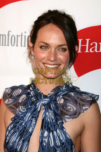 """AMBER VALETTA.""""Hanes Comfortique"""" Store Opening on Melrose Place, Los Angeles, California, USA..April 18th, 2007.headshot portrait .CAP/ADM/BP.©Byron Purvis/AdMedia/Capital Pictures"""