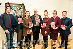 "Mind The Voice: Pictured at the launch of ""Mind the Voice"" book & CD by Paddy Creedon at Tarbert Community Centre on Saturday evening last were Ian Ryan, William & Niamh O'Flaherty, Paddy Creedon, Aisling & Breda O'Flahert & Fr. Sean Jones."