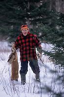 Amérique/Amérique du Nord/Canada/Quebec/Rivière-Eternité : Martin Pelletier trappeur  [Autorisation : 203]