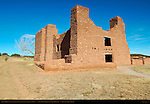 Quarai Mission, Nuestra Senora de Purisima Concepcion de Cuarac, Salinas Pueblo Missions National Monument, Mountainair, New Mexico