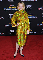 10 October  2017 - Hollywood, California - Cate Blanchett. World Premiere of &quot;Thor: Ragnarok&quot; held at The El Capitan Theater in Hollywood. <br /> CAP/ADM/BT<br /> &copy;BT/ADM/Capital Pictures