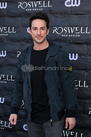 """WEST HOLLYWOOD, CA - JANUARY 10:  Michael Trevino at the """"Roswell, New Mexico"""" Experience at the 8801 Sunset Blvd on January 10, 2019 in West Hollywood, CA Credit: David Edwards/MediaPunch"""