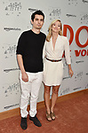 HOLLYWOOD, CA - JULY 11:  Damien Chazelle (L) and Olivia Hamilton attend Amazon Studios Premiere of 'Don't Worry, He Wont Get Far On Foot' at ArcLight Hollywood on July 11, 2018 in Hollywood, California.
