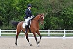 Class 5. Elementary 43. British dressage (BD). Brook Farm Training Centre. Essex. 16/04/2017. MANDATORY Credit Ellen Szalai/Sportinpictures - NO UNAUTHORISED USE - 07837 394578