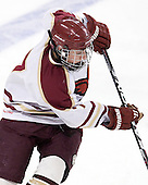 Taylor Licolli (BC - 7) - The Boston College Eagles defeated the visiting Boston University Terriers 6-2 in ACHA play on Sunday, December 4, 2011, at Kelley Rink in Conte Forum in Chestnut Hill, Massachusetts.