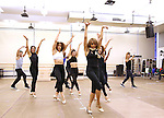 Deborah Cox and dancers perform during the North American Premiere presentation of 'The Bodyguard' at The New 42nd Street Studios on November 10, 2016 in New York City.