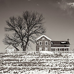 """APRIL SNOW -- Even though the calendar says """"Spring"""" it appears that Winter is not quite ready to leave the American Midwest. #michaelknapstein #midwest #midwestmemoir #blackandwhite #B&W #monochrome #blackandwhite_perfection #motherfstop #wisconsin  #bwphotography #myfeatureshoot  #fineartphotography #americanmidwest #squaremag #lensculture #mifa #moscowfotoawards #moscowinternationalfotoawards #rps #royalphotographicsociety #CriticalMass #CriticalMassTop200 #photolucida #contemporaryphotography  #portfolioshowcase11 #thegalaawards #thepolluxawards #flakphoto #ipe160 #grainedephotographe"""
