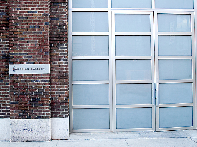 Exterior, Gagosian Gallery, Chelsea, New York, New York