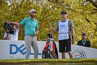 Dustin Johnson (USA) looks over his tee shot on 12 during day 1 of the WGC Dell Match Play, at the Austin Country Club, Austin, Texas, USA. 3/27/2019.<br /> Picture: Golffile | Ken Murray<br /> <br /> <br /> All photo usage must carry mandatory copyright credit (© Golffile | Ken Murray)