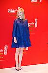 Lea Drucker arrive au Fouquets pour le repas après les César 2014, Restaurant le Fouquet's