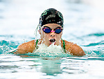 Cottonwood's Alicia May competes in the 100 yard IM race during the 53rd annual Country Club Swimming Championships on Tuesday, Aug. 7, 2012, in Kearns, Utah. (© 2012 Douglas C. Pizac)